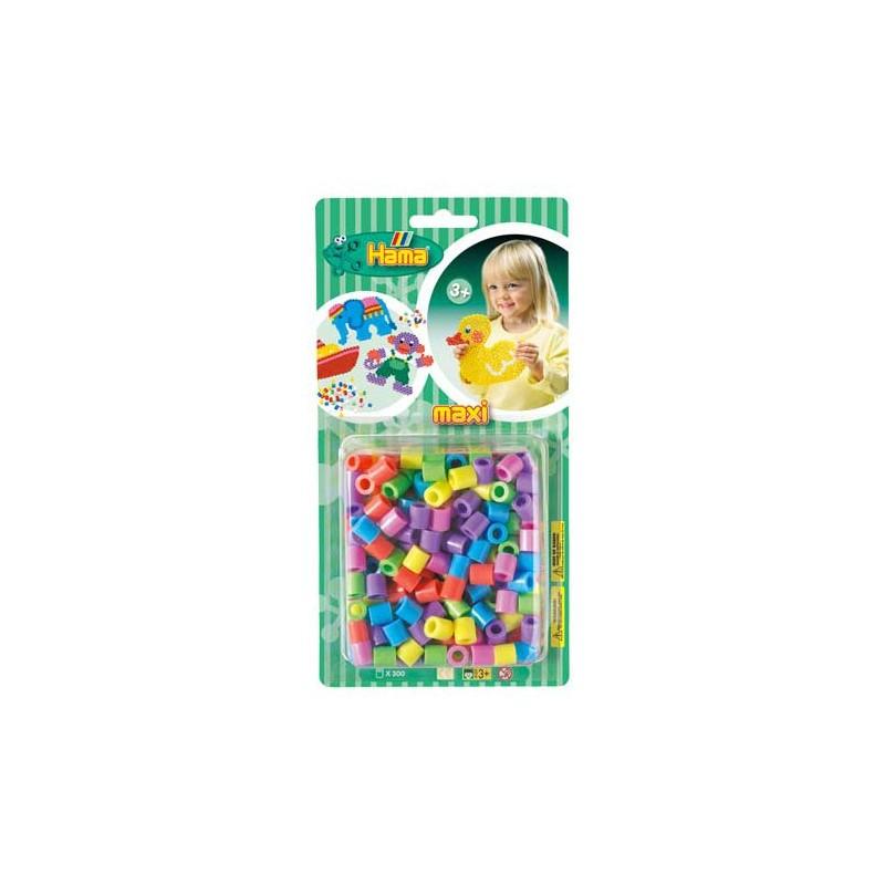 Hama Maxi Pastel Mix 300 piezas