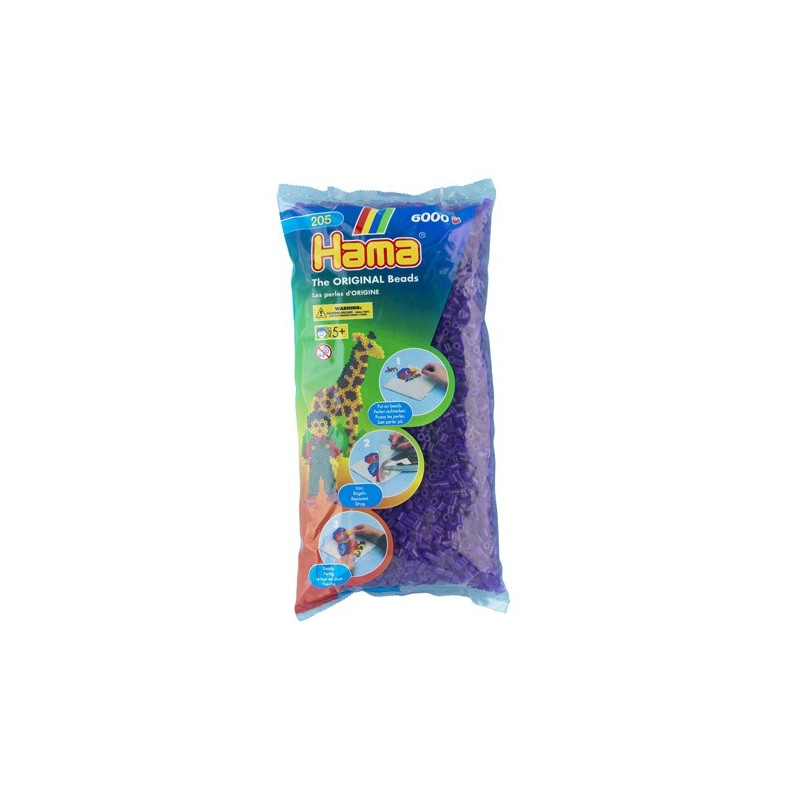Violeta Translúcido Hama Midi 6000