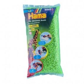 Verde Fluorescente Hama Midi 6000
