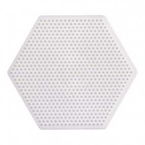 PLACA hexagono HAMA BEADS MINI PEGBOARD