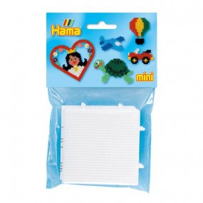 Pack de 2 Placas 7 x 7 cm Hama Mini