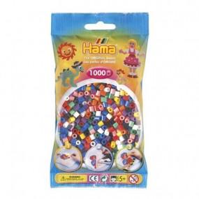 Mix 10 colores Hama Midi 1000